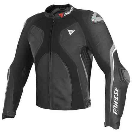 Super Rider Summer Jacket  black- antracite Dainese