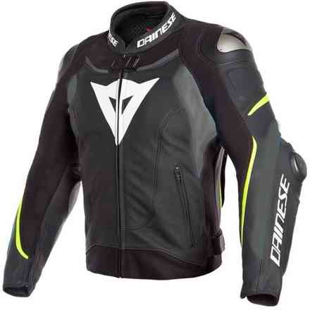 Super Speed 3 jacket black matt grey yellow fluo Dainese