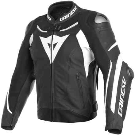 Super Speed 3 jacket black white Dainese
