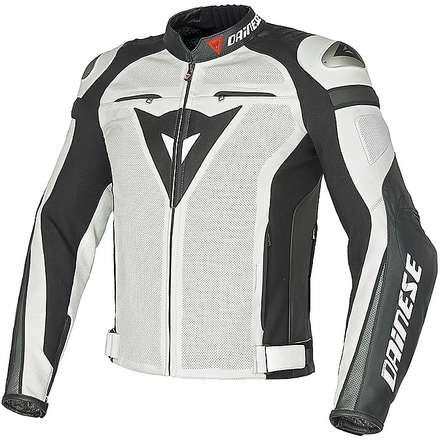 Super Speed C2 traforated  jacket white-white-anthracite) Dainese