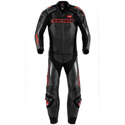 Super Sport Touring Suit 2 pieces black-red Spidi