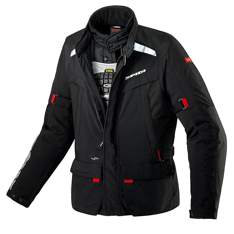 Superhydro H2out Jacket black Spidi