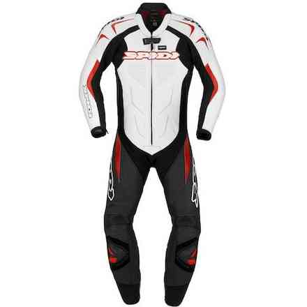 Supersport Wind Pro black white red Suit Spidi