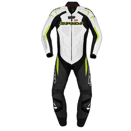 Supersport Wind Pro Suit lime green and black Spidi