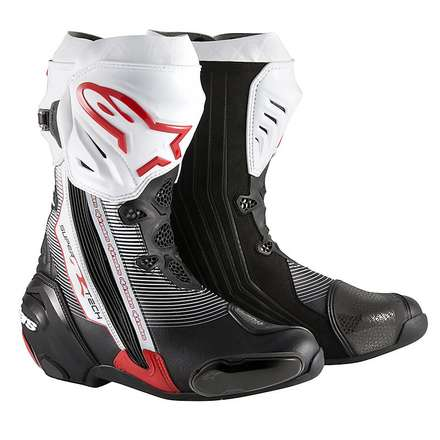 Supertech R 2015 Boots black-red-white Alpinestars