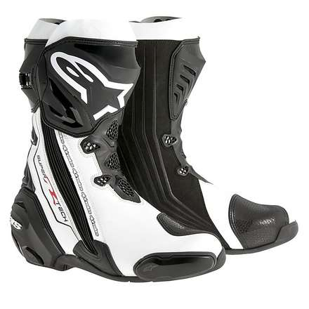 Supertech R 2015 Boots black-white Alpinestars