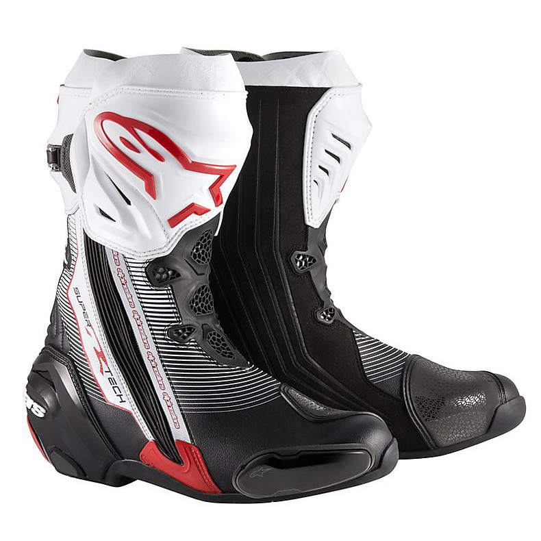 Supertech R  Boots black-red-white Alpinestars
