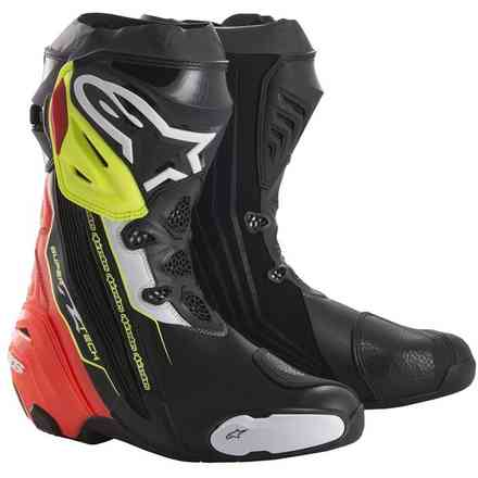 Supertech R boots black red yellow fluo Alpinestars