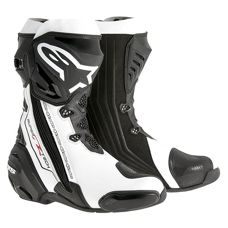 Supertech R  Boots black-white Alpinestars