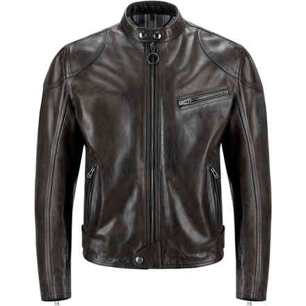 Supreme Blouson leather dark brown Belstaff