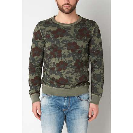 sweat-shirt militaire Gaudi