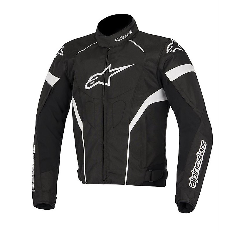 T-gp Plus R Jacket black-white Alpinestars