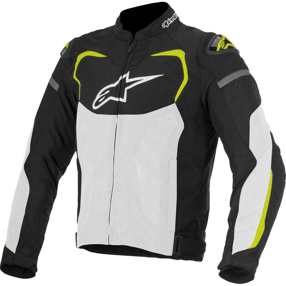 T-Gp Pro Air 2016 black-white-yellow fluo Jacket  Alpinestars