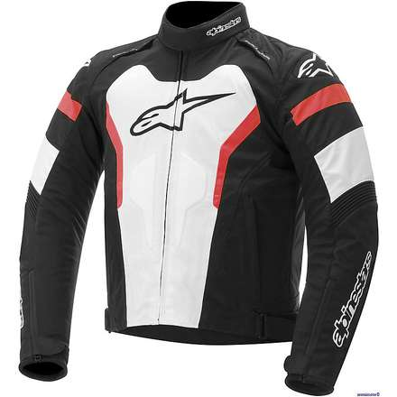 T-Gp Pro Black / White / Red Jacket Alpinestars