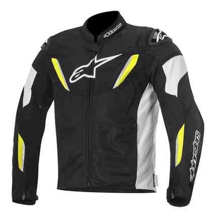 T-gp R Air black-white-yellow Jacket Alpinestars