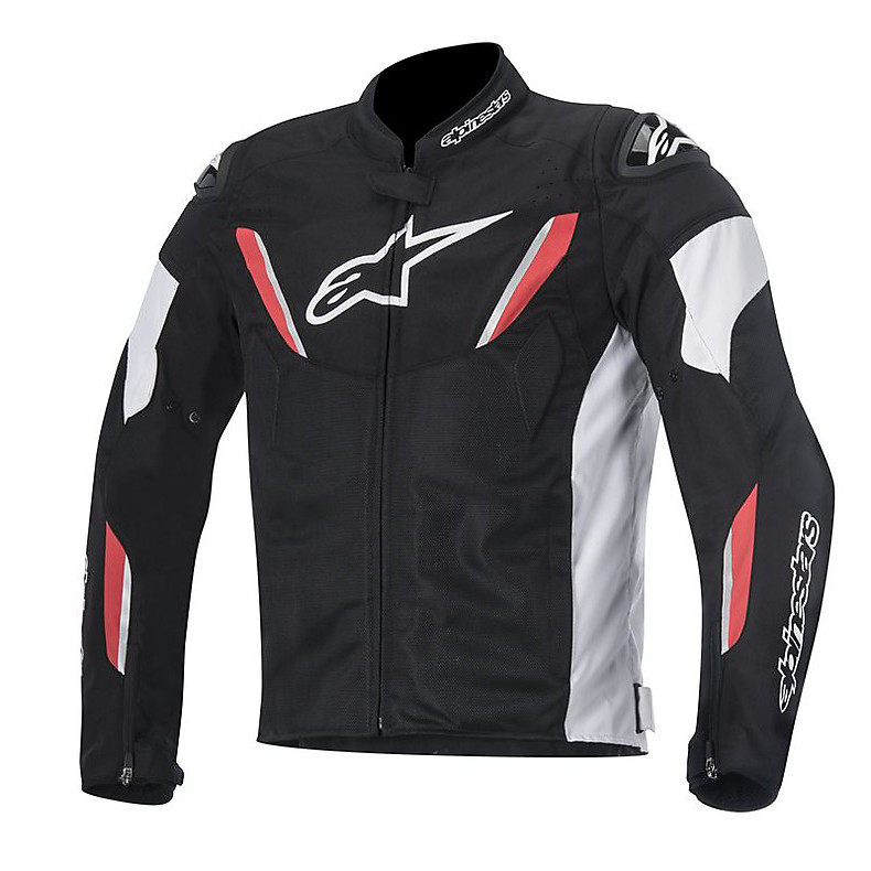 T-gp R Air Jacket black-red Alpinestars