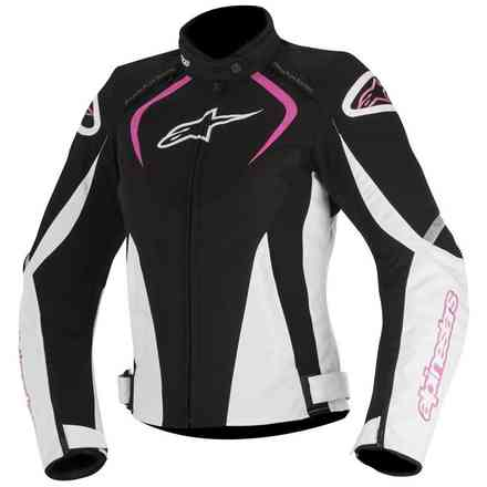 T-Jaws Waterproof 2017 black white fuchsia lady Jacket Alpinestars