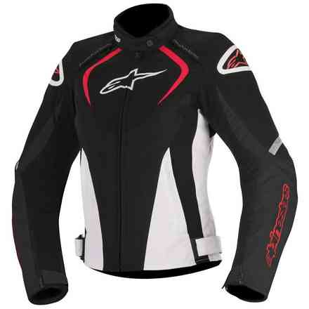 T-Jaws Waterproof 2017  black white red lady Jacket Alpinestars