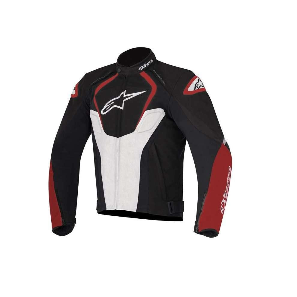T-Jaws Waterproof 2017  Jacket black white red Alpinestars