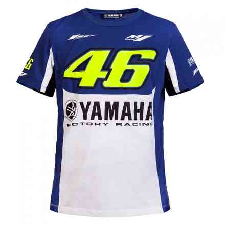 T-Shirt 46 Blu Royal Yamaha VR46