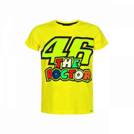 T-Shirt 46 The Doctor Gelb VR46