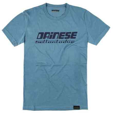 T-Shirt 72 Light Blu Dainese