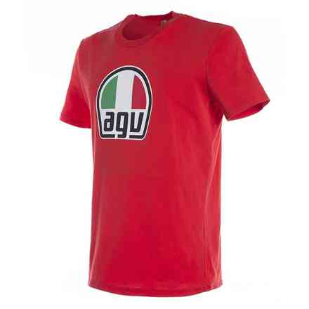 T-shirt Agv rouge Dainese