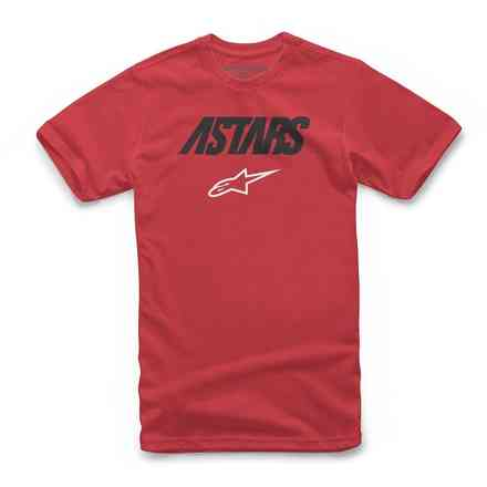 T-shirt Angle Combo Red Alpinestars