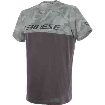 T-Shirt Camo Tracks antracite Dainese