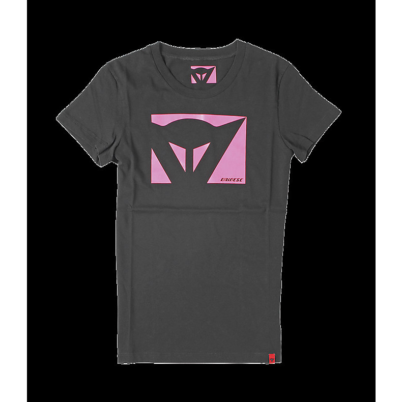 T-shirt Color New lady nero-fucsia Dainese