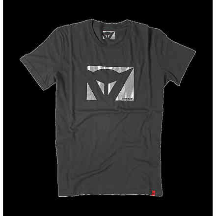 T-shirt Color New Schwarz carbon Dainese