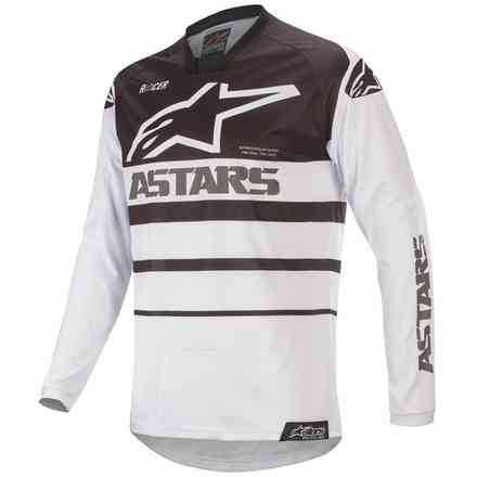 T-shirt Cross Racer Supermatic Weiß Schwarz Alpinestars