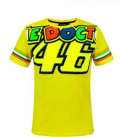 T-Shirt Cupolino Doctor 46 Yellow VR46
