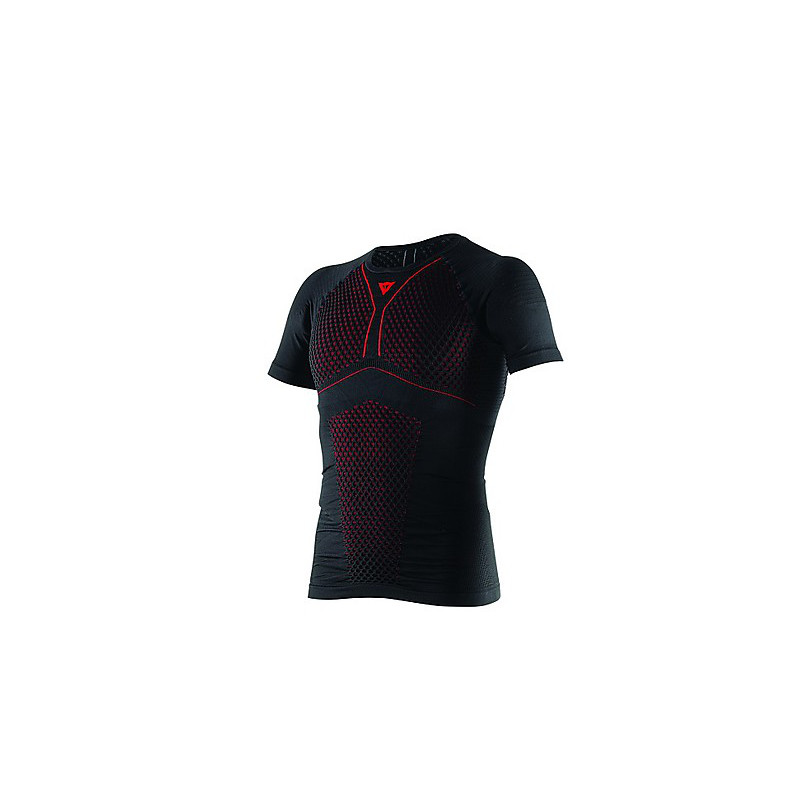 T-shirt  D-Core Thermo Tee SS Schwarz-Rot Dainese