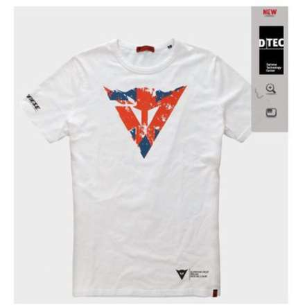 T-shirt Flag Silverstone Dainese