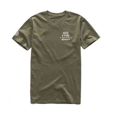T-shirt Fluid Premium military vert Alpinestars