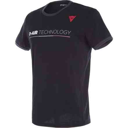 T-Shirt Innovation D-Air nera Dainese