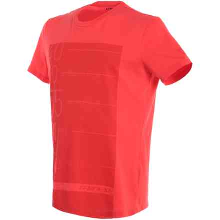T-shirt Lean-Angle red Dainese