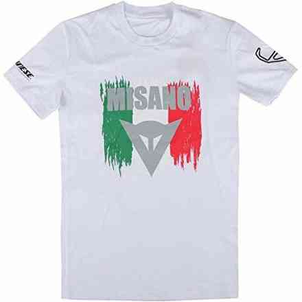 T-Shirt Misano D1 T bianco Dainese