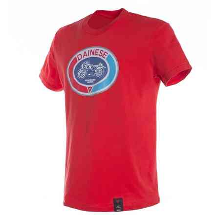 T-shirt Moto72 rosso Dainese