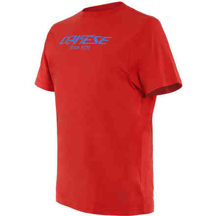 T-shirt Paddock Long Rosso Dainese