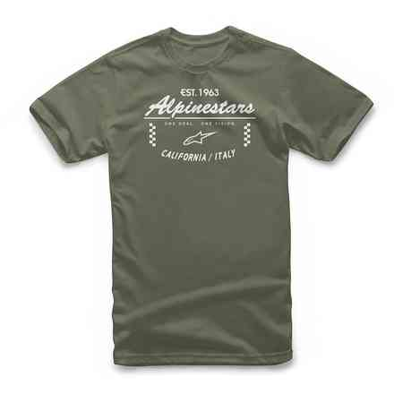 T-Shirt Pith Tee military green Alpinestars