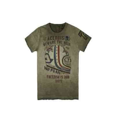 T-Shirt Roar Urban Green Acerbis