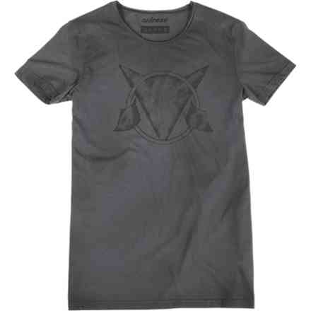 T-Shirt Scrawl Antracyte Dainese