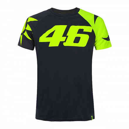 T-Shirt Sole Luna Blue VR46