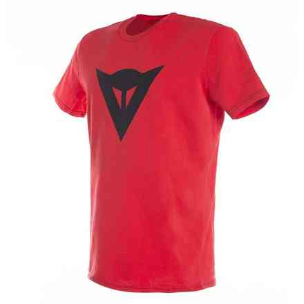 T-shirt Speed Demon rosso nero Dainese