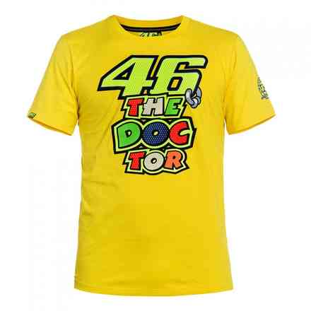 T-Shirt The Doctor 46 giallo VR46