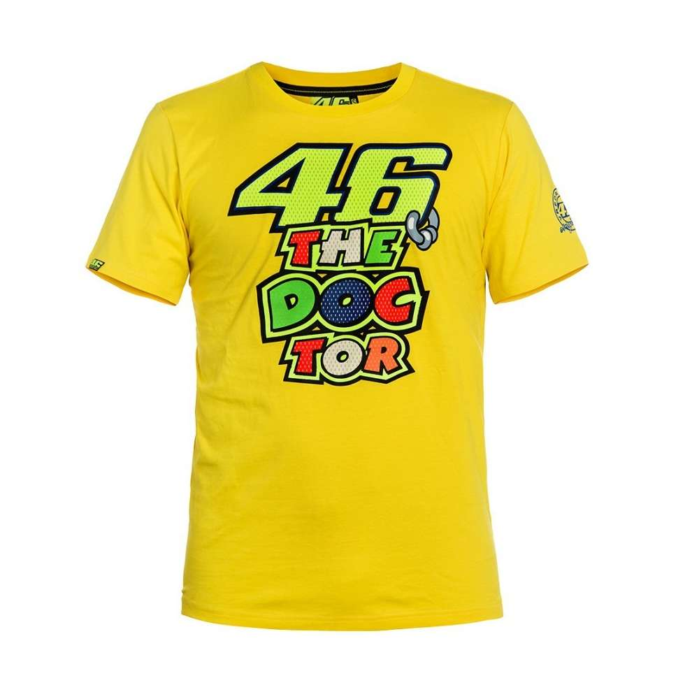 T-Shirt The Doctor 46 jaune VR46