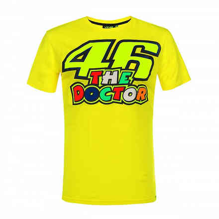 T-Shirt The Doctor Giallo VR46