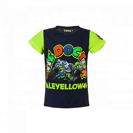 T-Shirt Vr-46 Kids Navy VR46